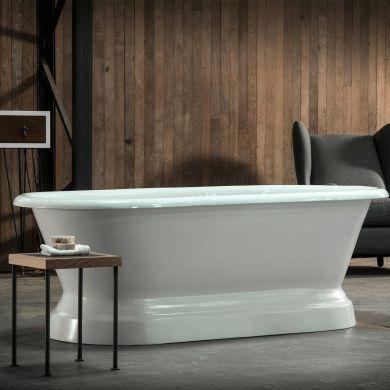 Arroll - The Chaumont Designer Cast Iron Freestanding Roll Top Bath - 1700x770mm