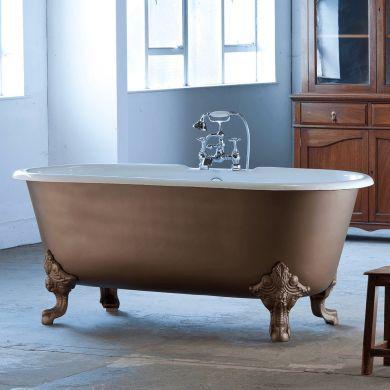 Arroll - The Cheverny Designer Cast Iron Freestanding Roll Top Bath - 1850x770mm