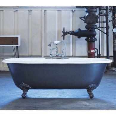 Arroll - The Moulin Designer Cast Iron Freestanding Roll Top Bath - 1900x770mm