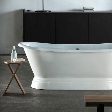 Arroll - The Versailles Designer Cast Iron Freestanding Roll Top Bath - 1800x790mm