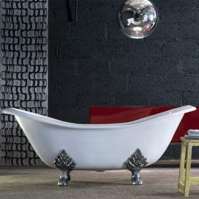 Arroll - The Villandry Designer Cast Iron Freestanding Roll Top Bath - 1820x762mm
