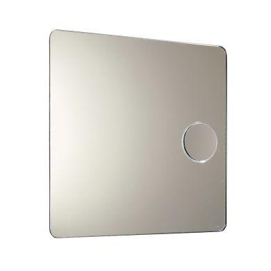 Zoom + Designer Magnifying Bathroom Mirror - 600mm - Main Image