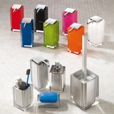 Bright Designer Freestanding Bathroom Accessories Collection - Main Image