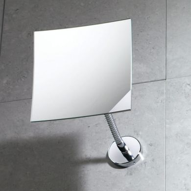 Gedy Designer Square Magnifying Wall Mirror - Main Image