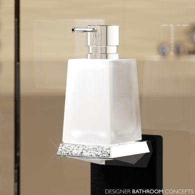 Swarovski Crystals Designer Soap Dispenser - Main Image
