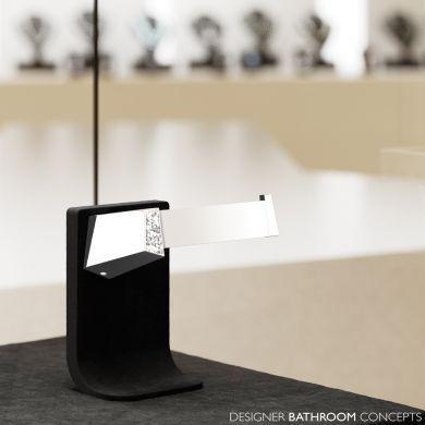 Swarovski Crystals Designer Toilet Roll Holder - Main Image