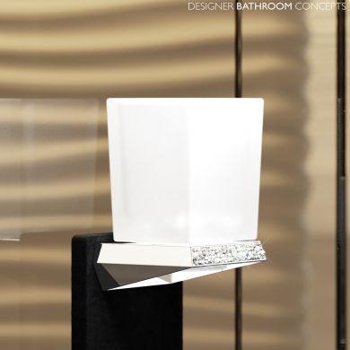 Swarovski Crystals Designer Tumbler Holder - Main Image
