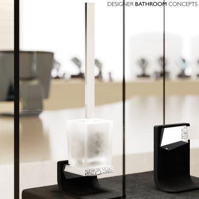 Swarovski Crystals Designer WC Brush Set - Main Image