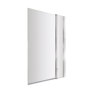 BC Designs 1435x1005mm Straight Bath Screen With Fixed Panel