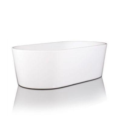 BC Designs Viado Gloss White Acrymite Freestanding Bath 1680x740mm