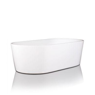 BC Designs Viado Gloss White Acrymite Freestanding Bath 1780x800mm