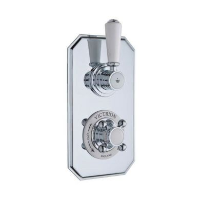 BC Designs Victrion One Way Twin Concealed Shower Valve