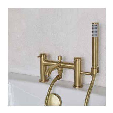 Britton Hoxton Bath Shower Mixer With Handset