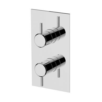 Britton Hoxton Thermostatic Shower Mixer With Diverter