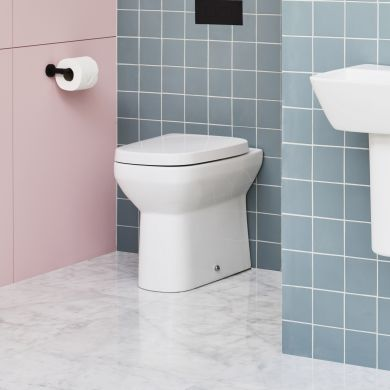 Britton MyHome Back-To-Wall Toilet and Soft Close Seat