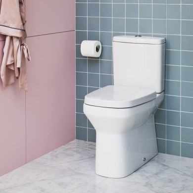 Britton MyHome Close Coupled Back To Wall WC and Soft Close Seat