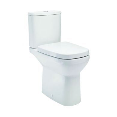 Britton MyHome Close Coupled Open Back WC and Soft Close Seat