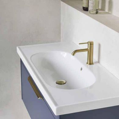 Britton Shoreditch 850mm Single Drawer Vanity Unit With Basin