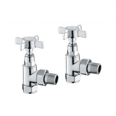 Bronte Traditional Angled Valves Pair