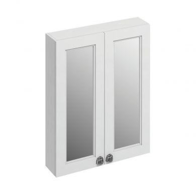 Burlington 600mm Mirrored Double Door Mirrored Cabinet