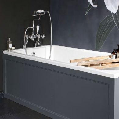 Burlington Arundel Cleargreen Bath and Panels 1700x700mm