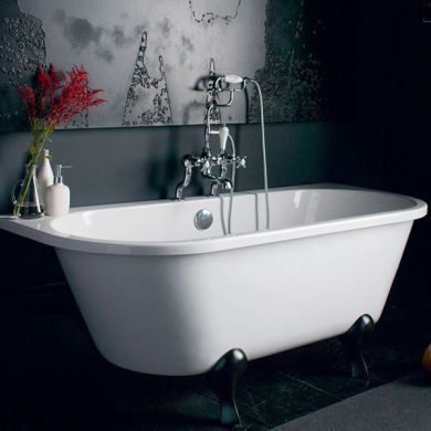 Burlington Avantgarde 1700x750mm Slipper Bath