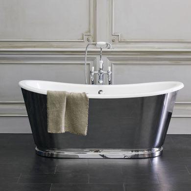 Burlington Balthazar Double Ended Bath 1675x761mm