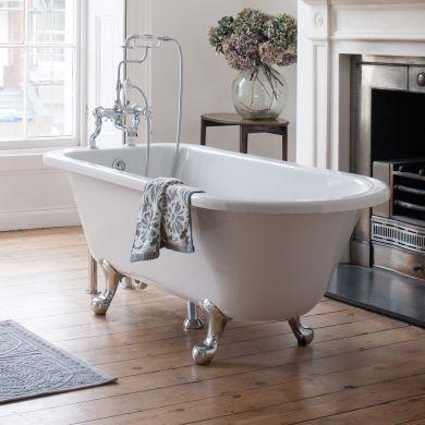 Burlington Blenheim Single Ended Bath 1700x750mm