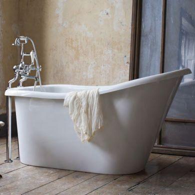 Burlington Emperor Slipper Bath 1530x780mm