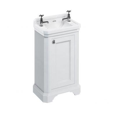 Burlington Freestanding Cloakroom Vanity Unit With Edwardian 510mm Basin