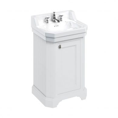 Burlington Freestanding Cloakroom Vanity Unit With Edwardian 560mm Basin