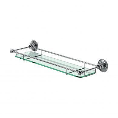 Burlington Glass Shelf With Railing