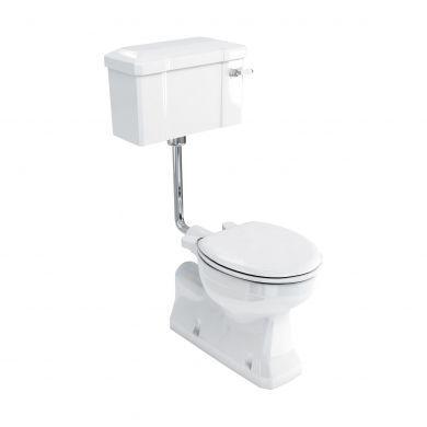 Burlington S Trap Low Level Toilet With Deep Rear Inlet 520 Lever Flush Cistern