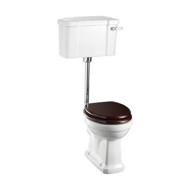 Burlington Standard Low Level Toilet With Deep Rear Inlet 520 Lever Flush Cistern