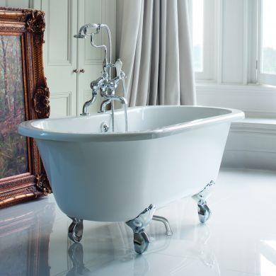 Burlington Windsor Double Ended Bath 1500x750mm