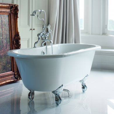 Burlington Windsor Double Ended Bath 1700x750mm