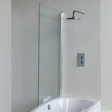 Britton Cleargreen 1450x850mm Ecocurve Bath Screen