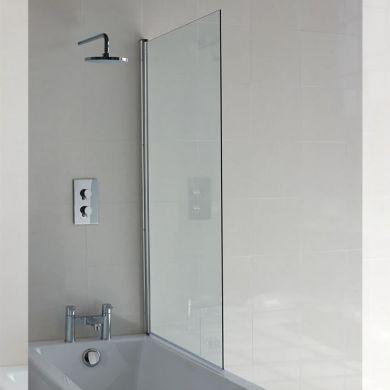 Britton Cleargreen 1450x850mm Single Bath Screen