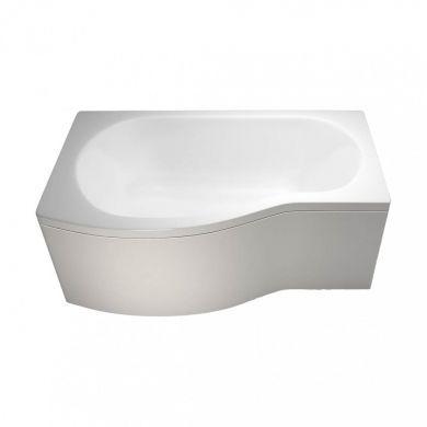 Britton Cleargreen 1500x900mm Ecoround Left Hand Showering Bath