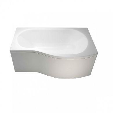 Britton Cleargreen 1500x900mm Ecoround Right Hand Showering Bath