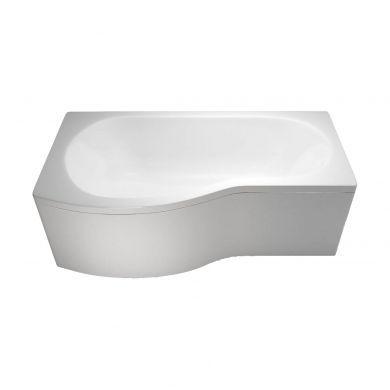 Britton Cleargreen 1700x900mm Ecoround Left Hand Showering Bath