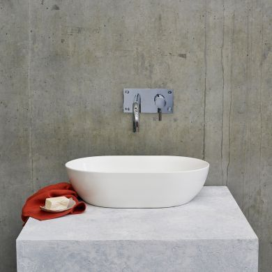 Clearwater Formoso ClearStone Countertop Basin