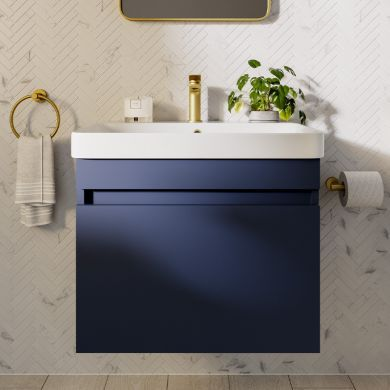 Britton Dalston 500mm Single Drawer Vanity Unit With Basin