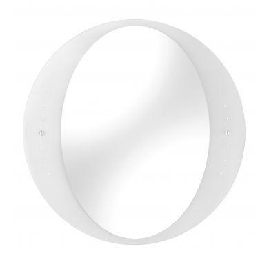 Bathroom Origins Opera White Mirror - 600mm - Main Image