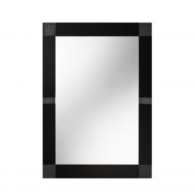 Bathroom Origins Opus Black Mirror - 600X800mm - Main Image