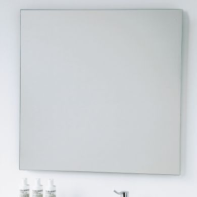 Bathroom Origins Slim Square 80 Mirror - 800X800mm - Main Image