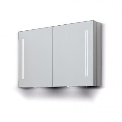 Bathroom Origins Space Ii Double Door Semi-Recessed Cabinet - 700X700mm - Main Image