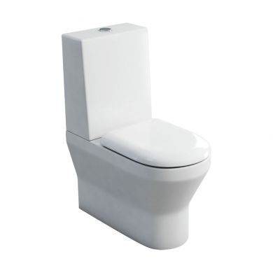 Britton Curve Close Coupled Back To Wall WC With One-Piece Cistern