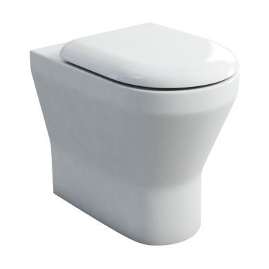 Britton Curve Tall Height Back To Wall WC