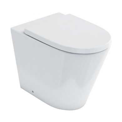 Britton Sphere Rimless Back To Wall WC